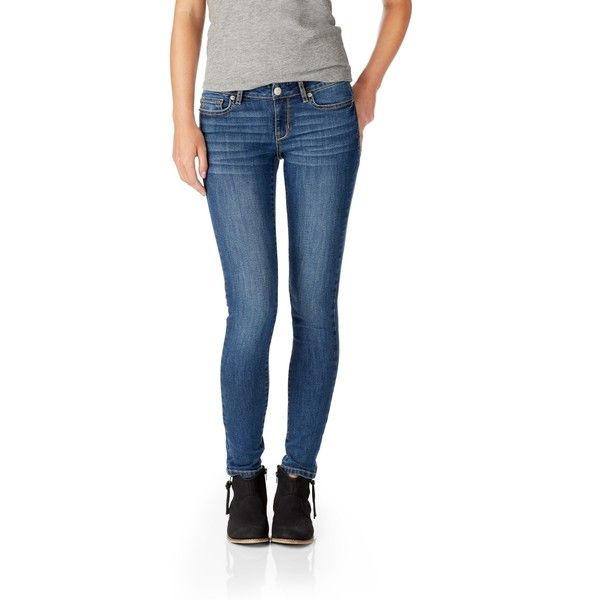 98fd6485a5dbdc Aeropostale Core Medium Wash Jegging ($20) ❤ liked on Polyvore featuring  pants, leggings