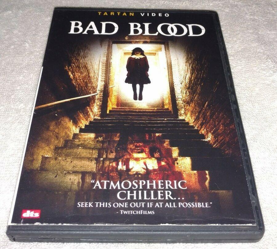 Bad Blood (DVD, 2007) *RARE Opp *HORROR *HALLOWEEN HORROR