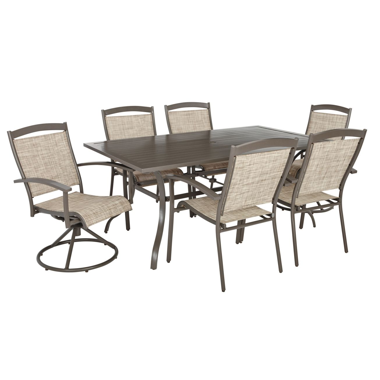 Living Accents Colma Dining Set 7 pc. All Patio