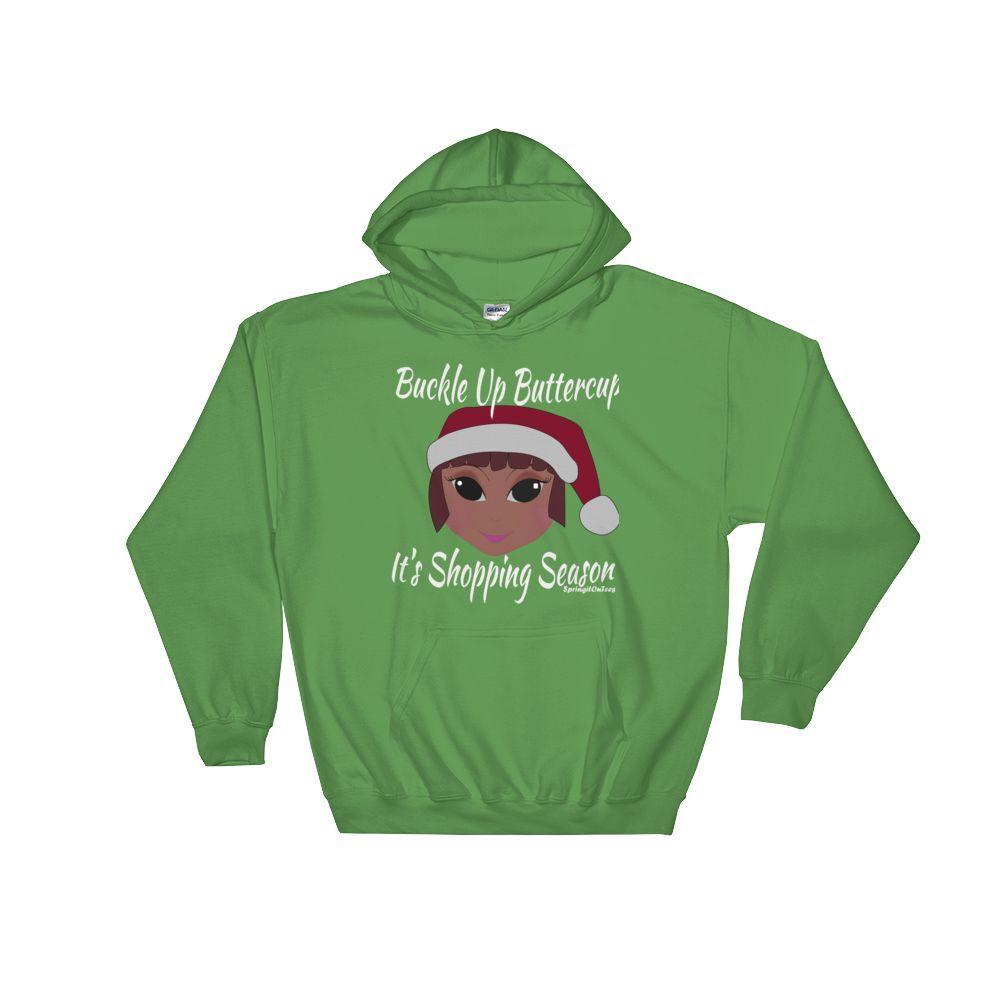 Buckle Up Hooded (unisex fit) Sweatshirt|SpringitOnTees