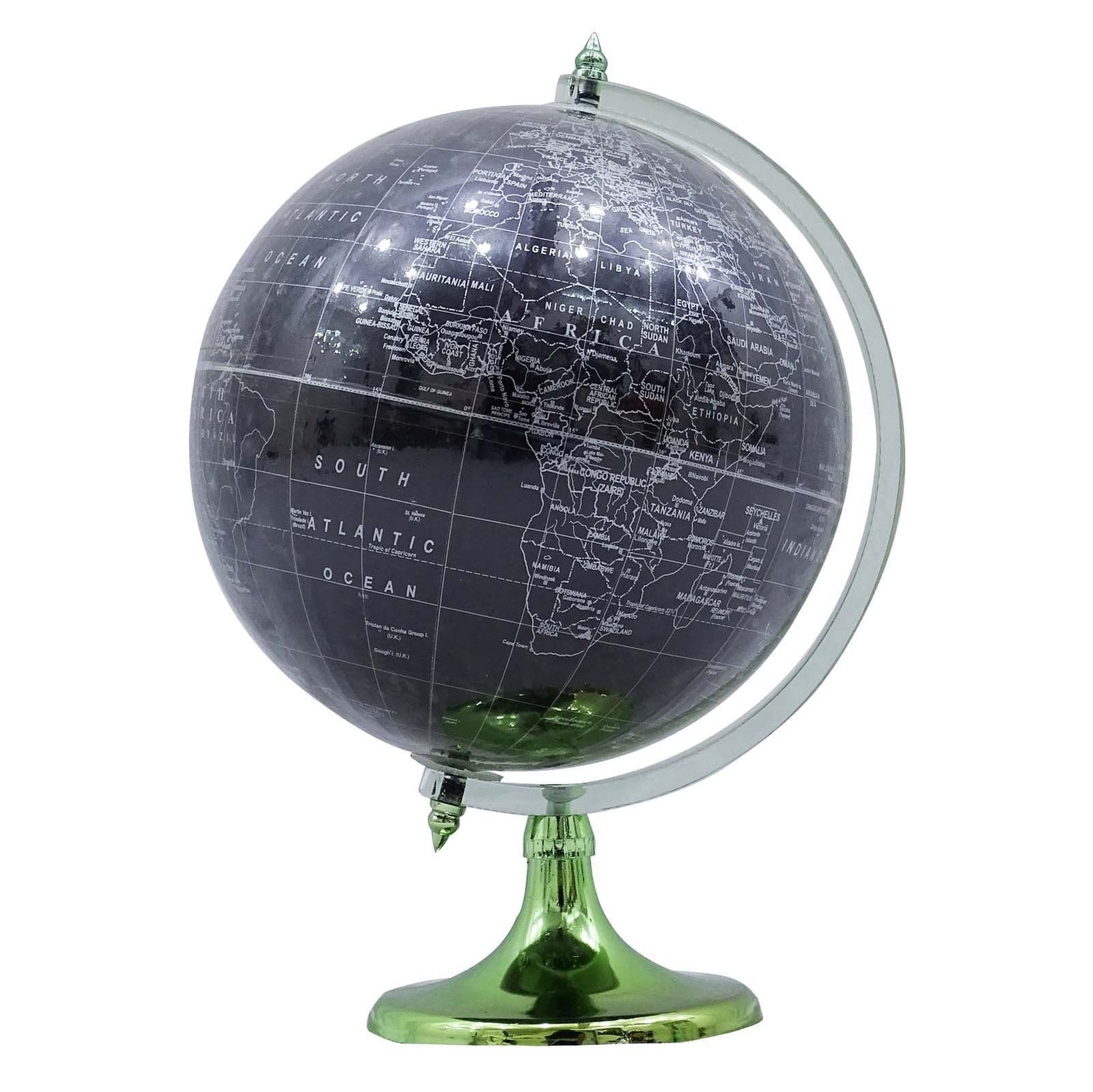 Desktop table decor rotating globes ocean geographical earth world desktop table decor rotating globes ocean geographical earth world map globe easy to read gumiabroncs Image collections