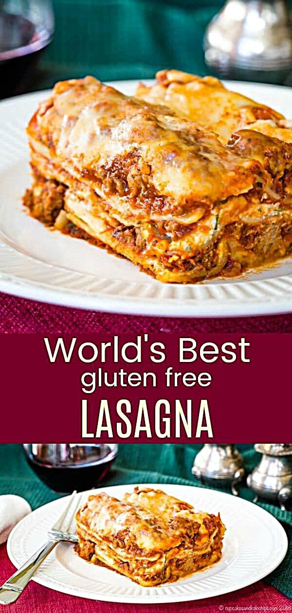 - The World's Best Gluten Free Lasagna - this homemade lasagna recipe has hearty meat sauce and thre...