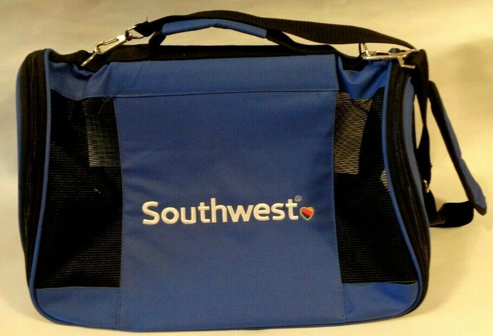 Southwest Airlines In Cabin Pet Carrier Tsa Approved Airplane