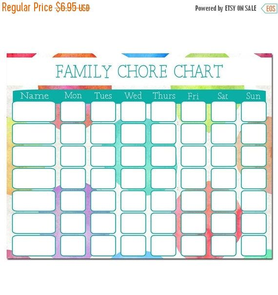 sale chore chart download family chore chart family schedule