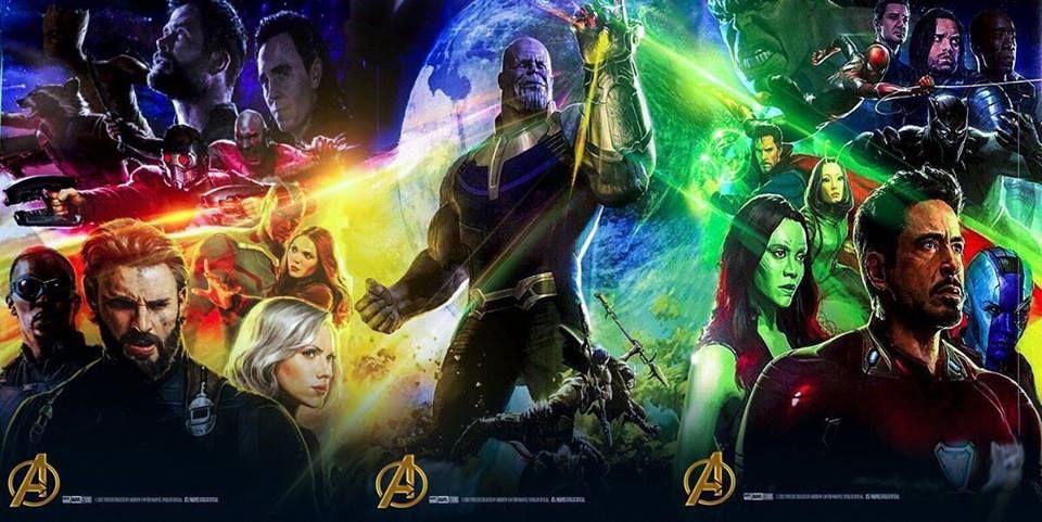 Muchos cambios de look en el nuevo póster de avengers: infinity war
