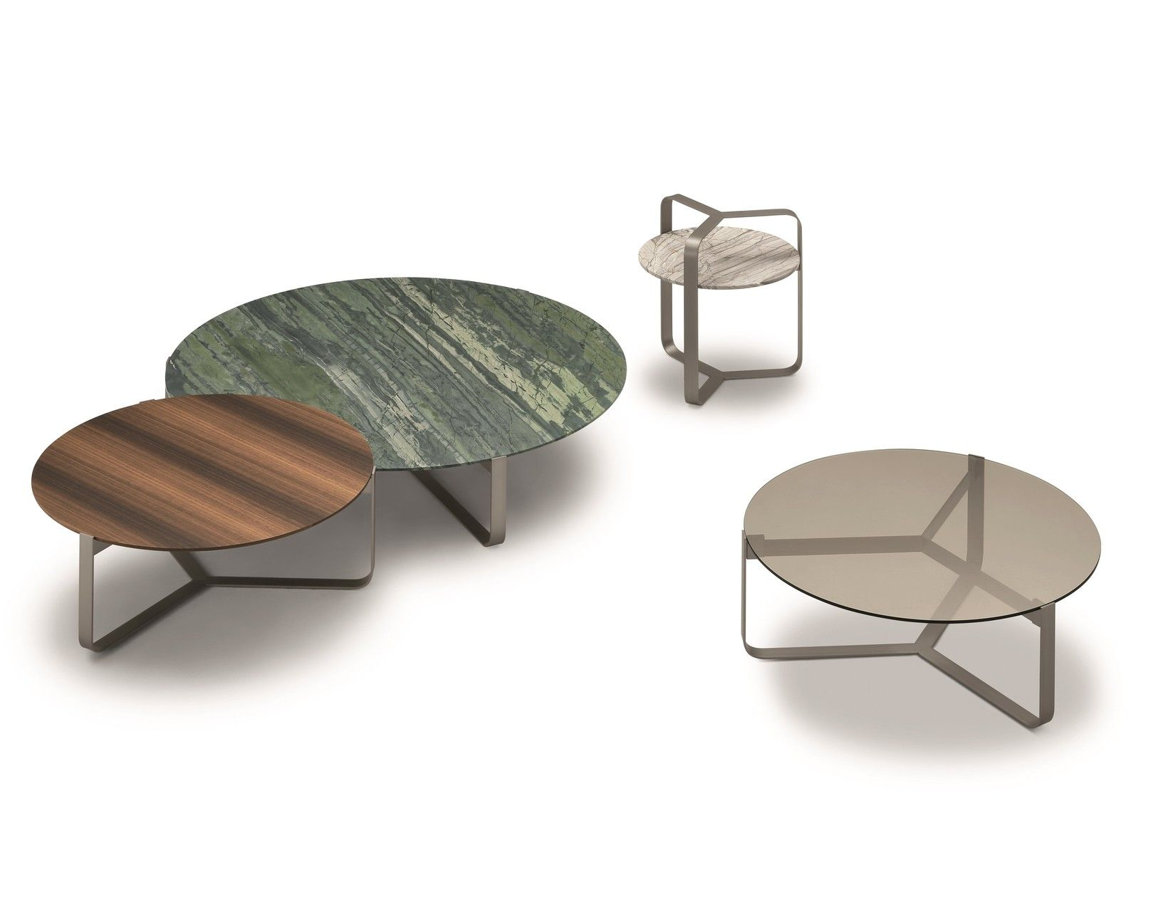 Round Coffee Table Yari By Flou Coffee Table Coffee Table Design Table [ 1260 x 1616 Pixel ]