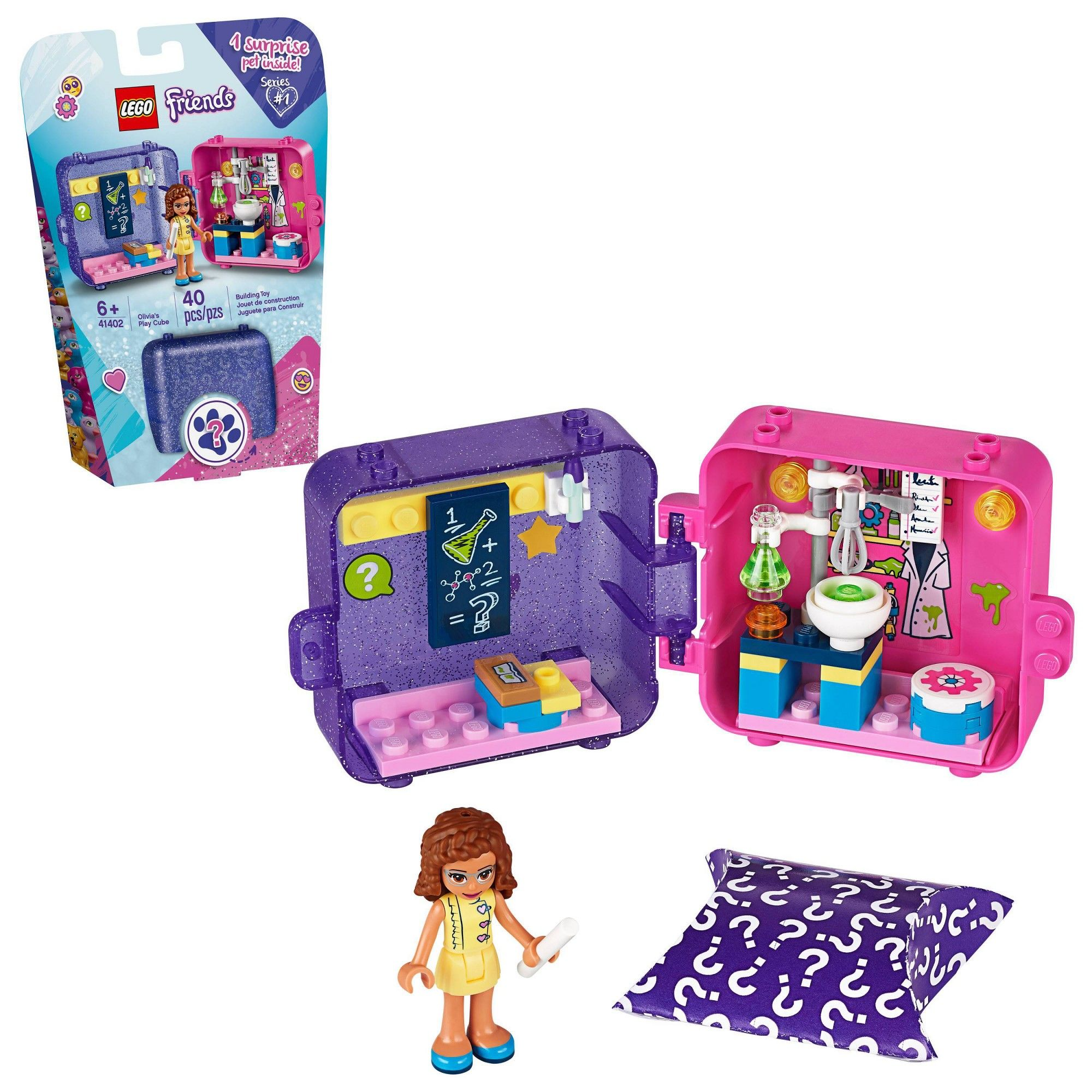Lego Friends Olivia S Play Cube Building Kit In