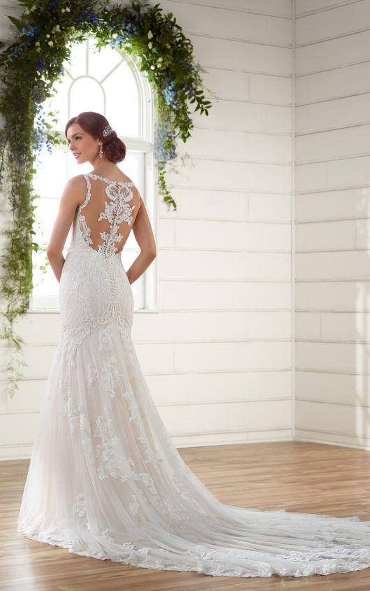 Vintage Boho Wedding Dress with Pearl Beading | Pinterest | Vintage ...
