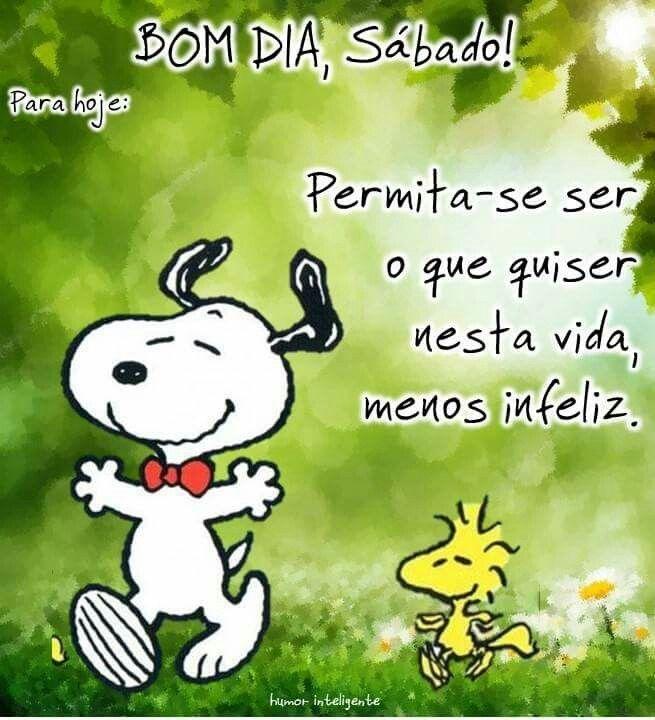 Tag Mensagem De Bom Dia Sabado Snoopy