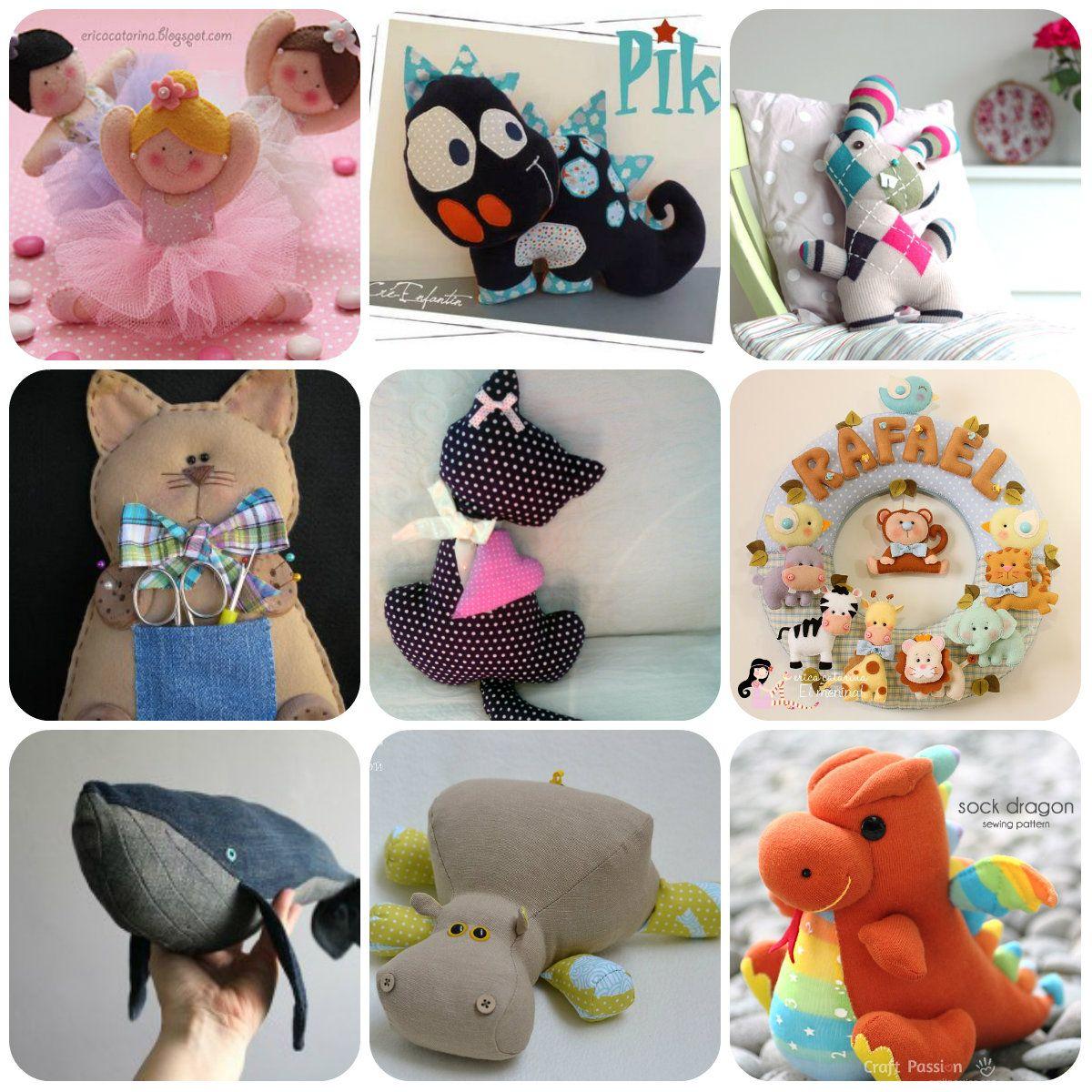 Tutorial e cartamodelli di cucito creativo per bambole e for Tutorial fermaporta di stoffa