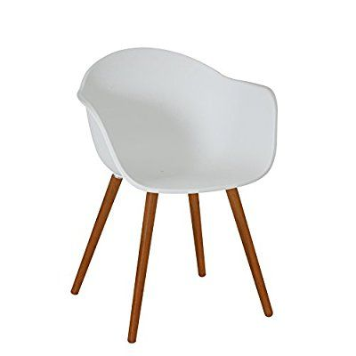 Amazon.de: greemotion 129431 Gartenstuhl DERBY aus Kunststoff Stuhl ...