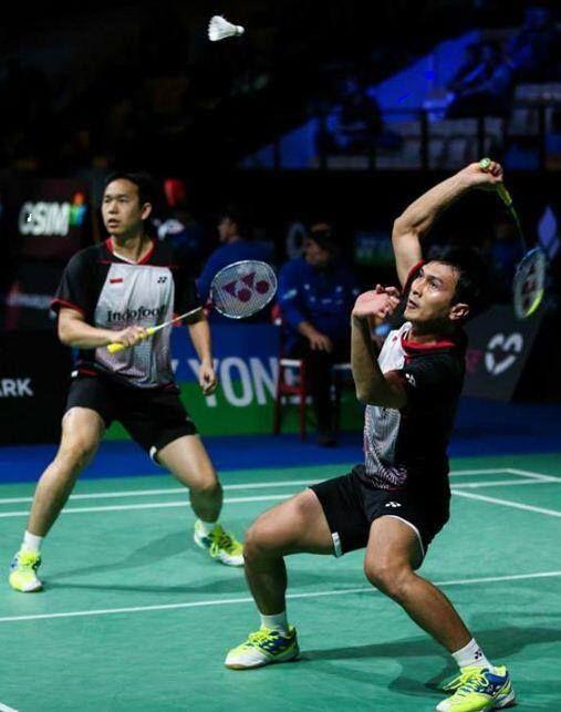 Hendra Setiawan M Ahsan Badminton World Champions 2013