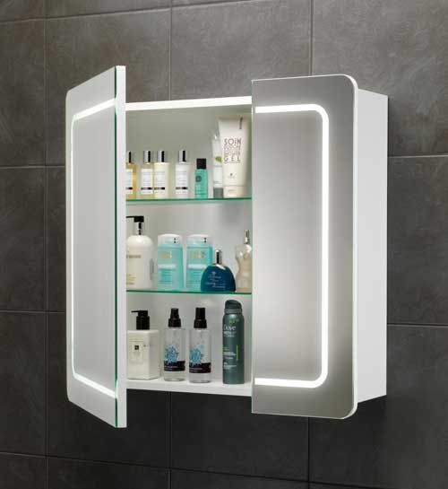 Does It Really Light Up And Have Storage New Bathroom Pinterest