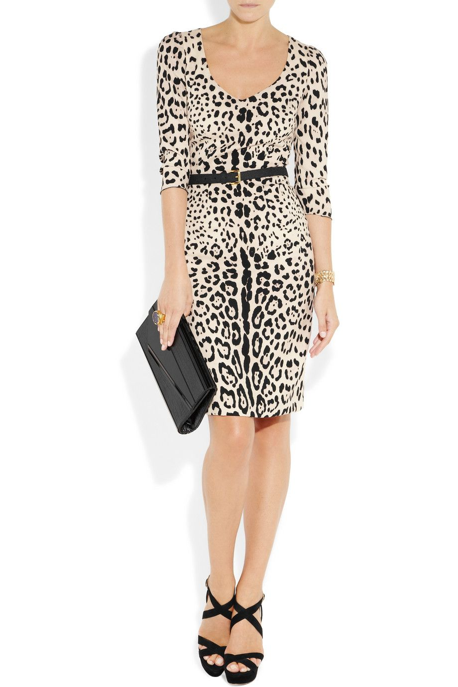 Gabana Dolce zebra dress collection recommend to wear in autumn in 2019