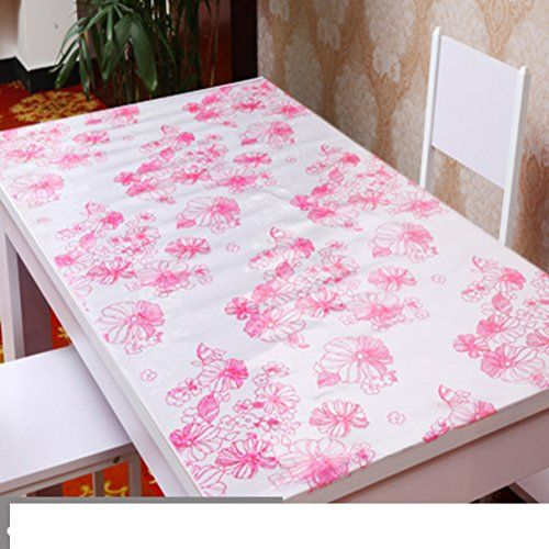 Waterproof Soft Glass Pvc Disposable Table Cloth Plastic Table