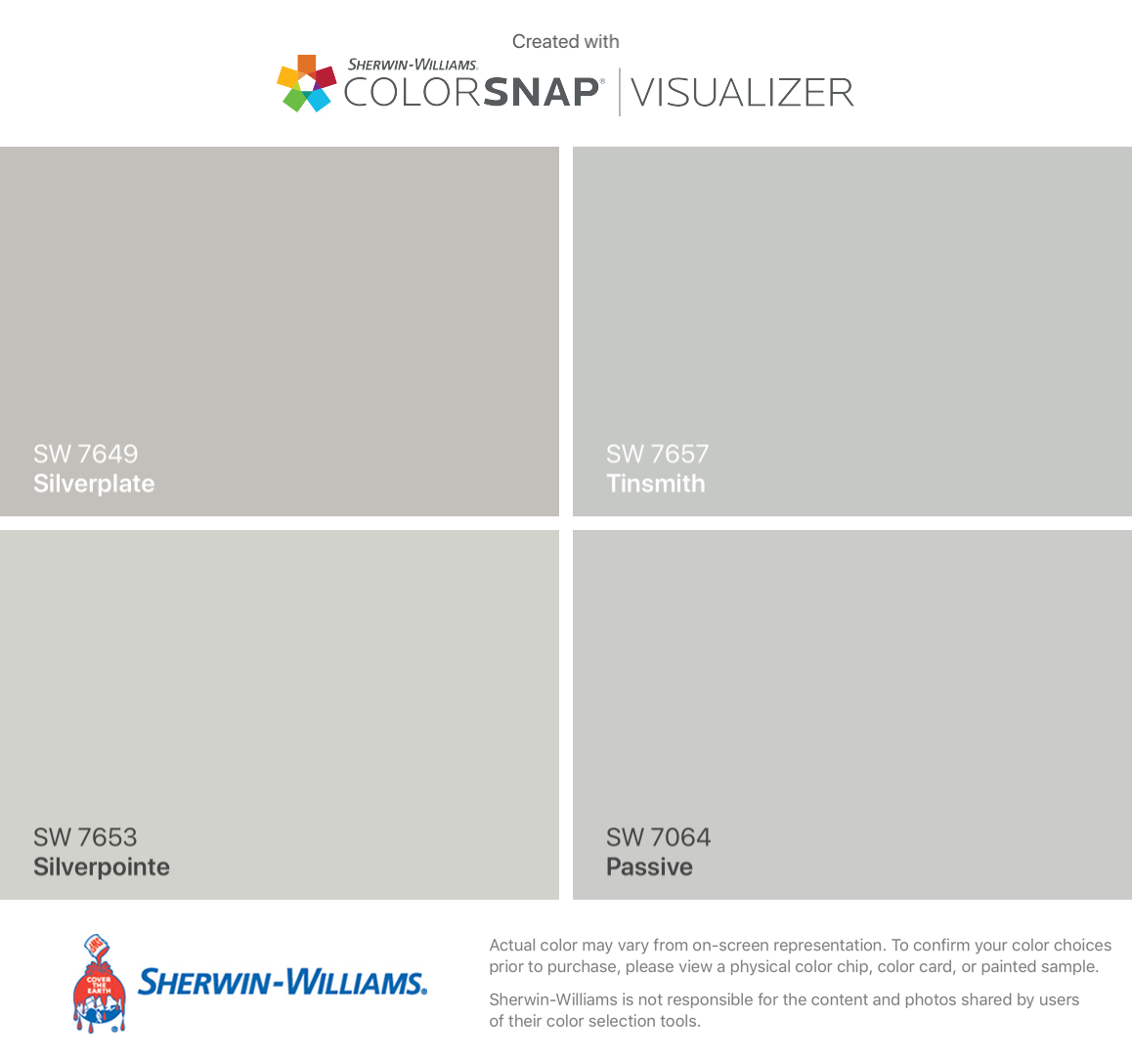 I Found These Colors With Colorsnap Visualizer For Iphone By Sherwin Williams Silv Interior Paint Colors Schemes Paint Colors For Home Choosing Paint Colours