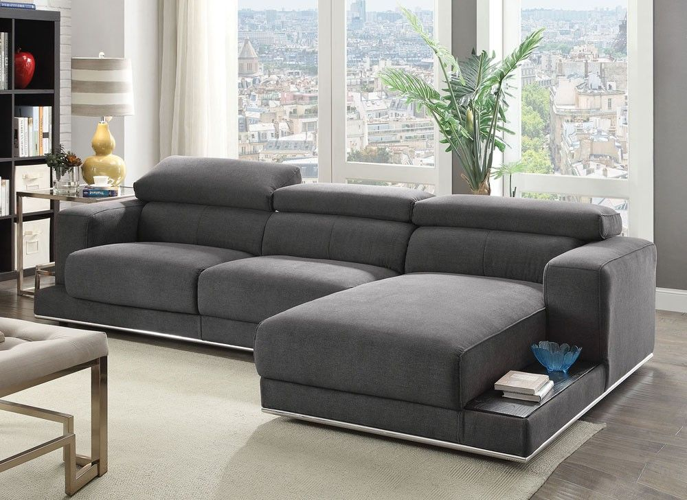Maura Modern Fabric Sectional Sofa in 2019 | Living Room ...