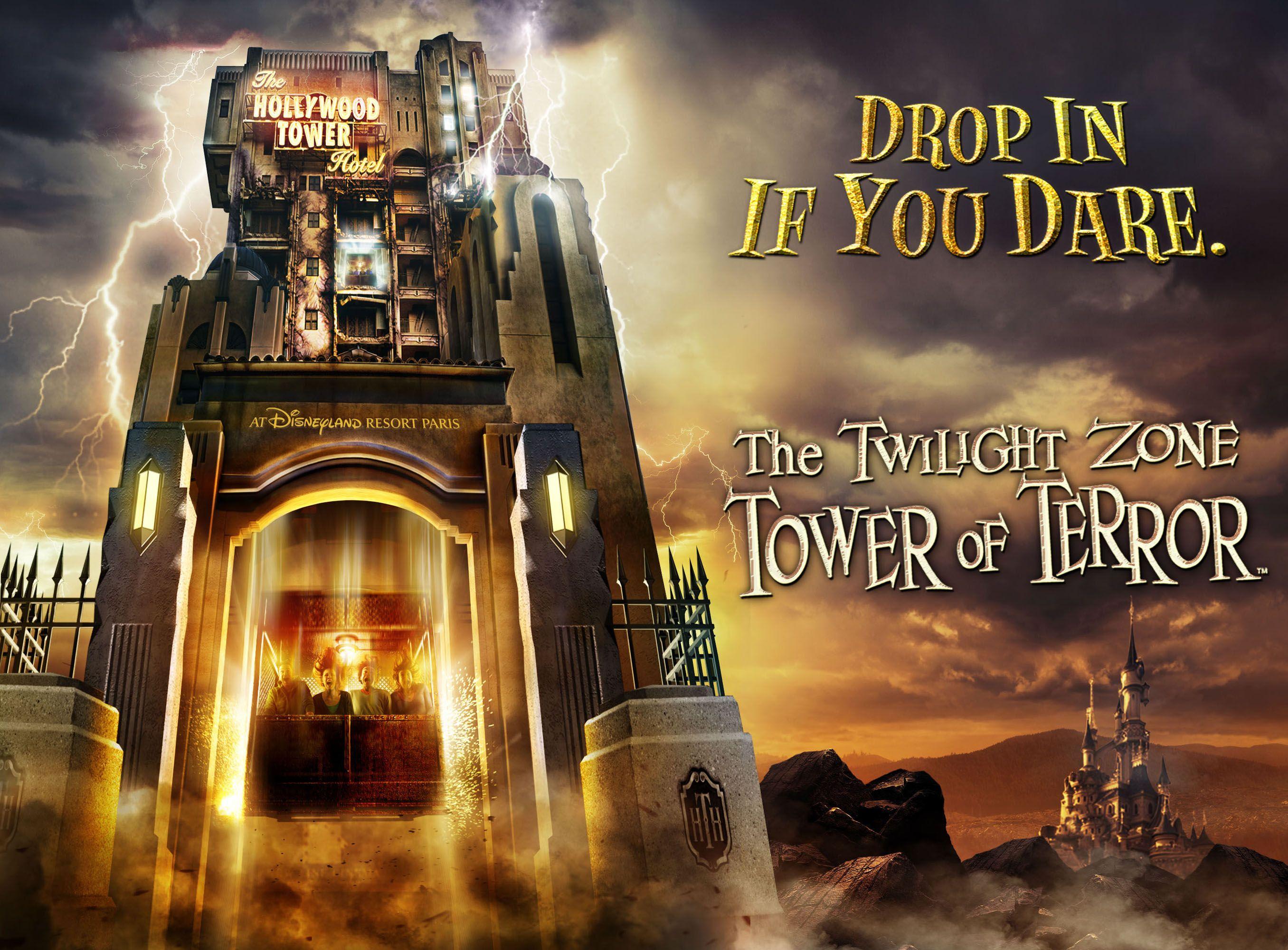 The Twilight Zone Tower Of Terror Tower Of Terror Hollywood Tower Of Terror Disney California Adventure