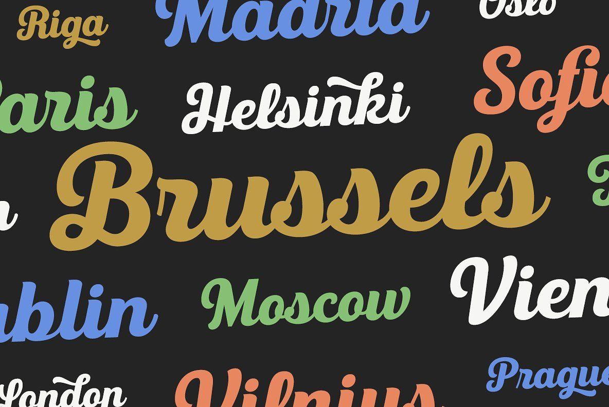 Triumph Letterpress Font Hipster Fonts Retro Font