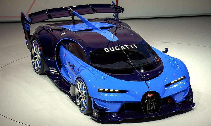 Bugatti Vision Gran Turismo Concept   por 1GrandPooBah