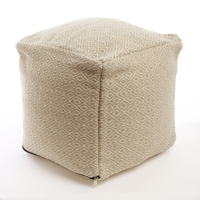 Best Home Fashion Inc Diamond Pattern Pouf Ottoman Reviews