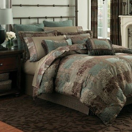 Croscill Galleria Brown Queen Comforter Set by Croscill Bedding ...