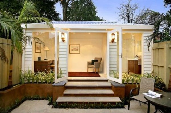 Garden Office Shed Design Ideas Small Patio Landscape Home Office Ideas