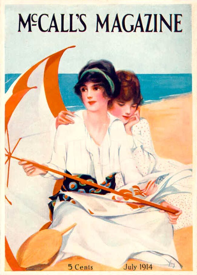 ๑ Nineteen Fourteen ๑ historical happenings, fashion, art & style from a century ago - McCall's 1914