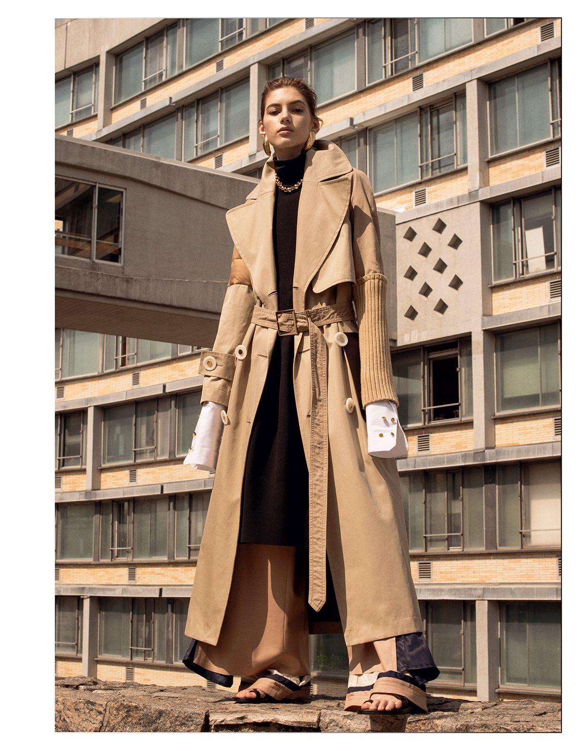 Valery Kaufman stars in Vogue Russia Magazine July 2016 issue
