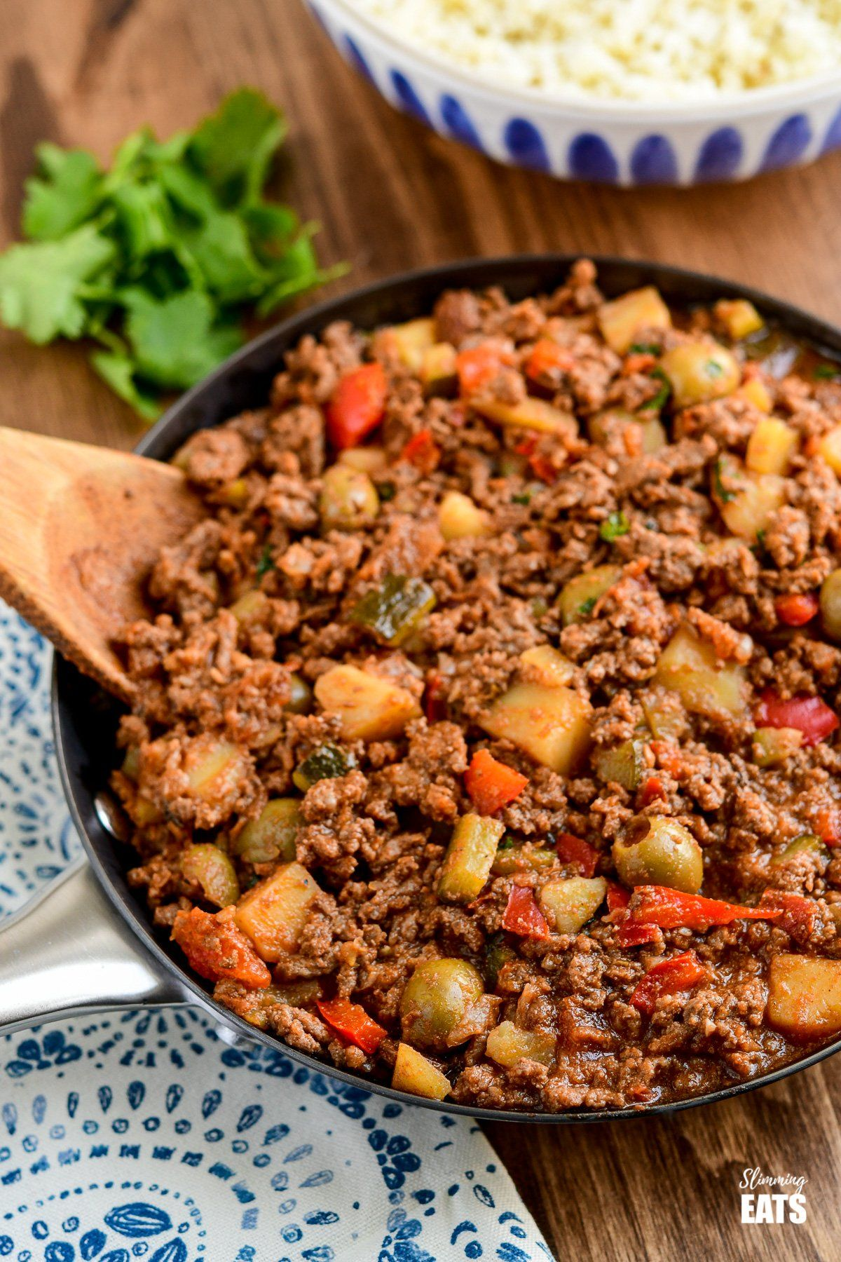 Cuban beef picadillo a delicious hearty ground beef