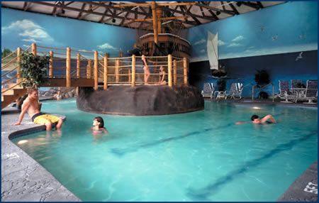 Pilgrim Cove Indoor Theme Pool John Carver Inn & Spa in