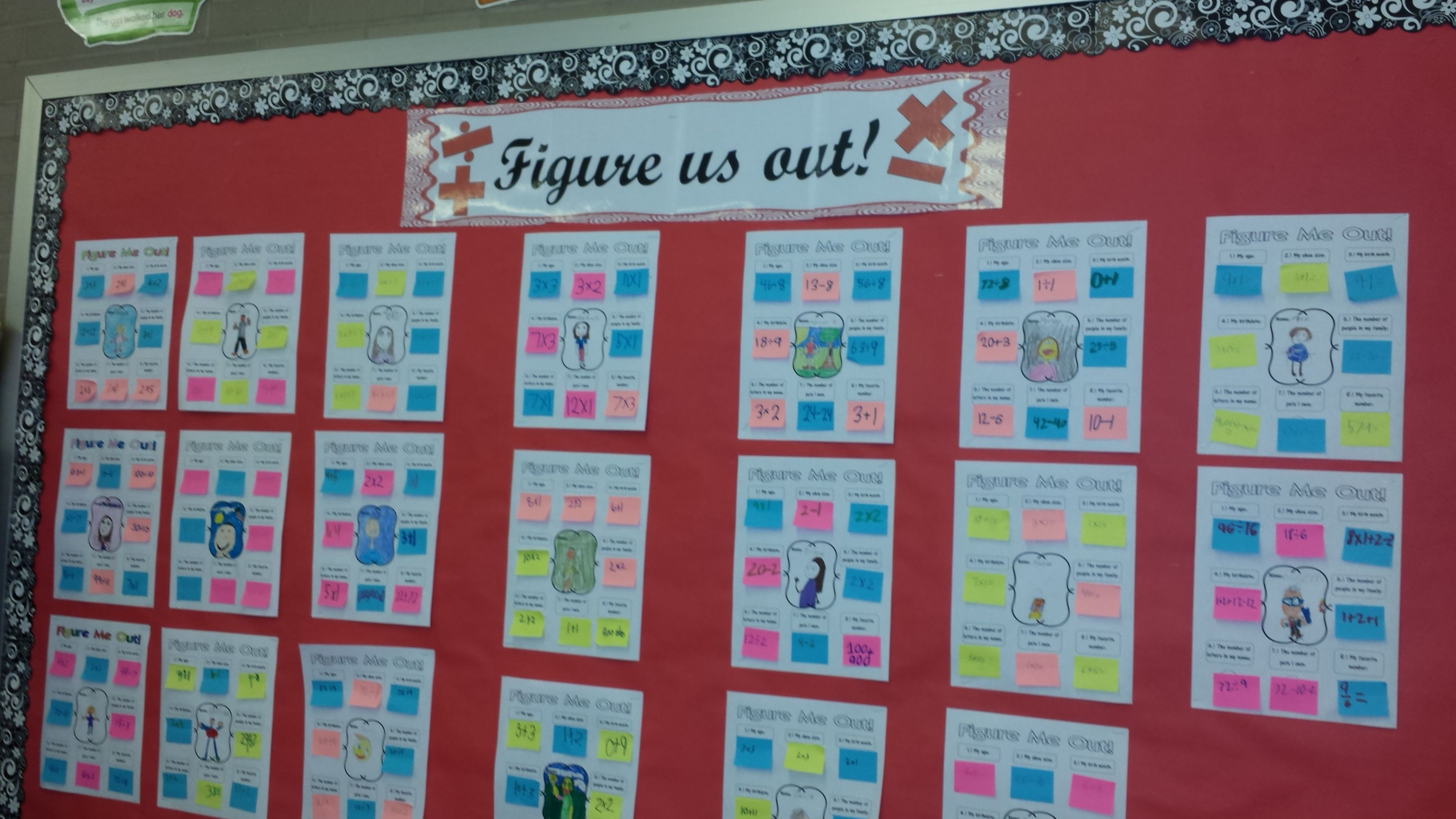 Image Result For Year Long Classroom Graphs 4th Grade