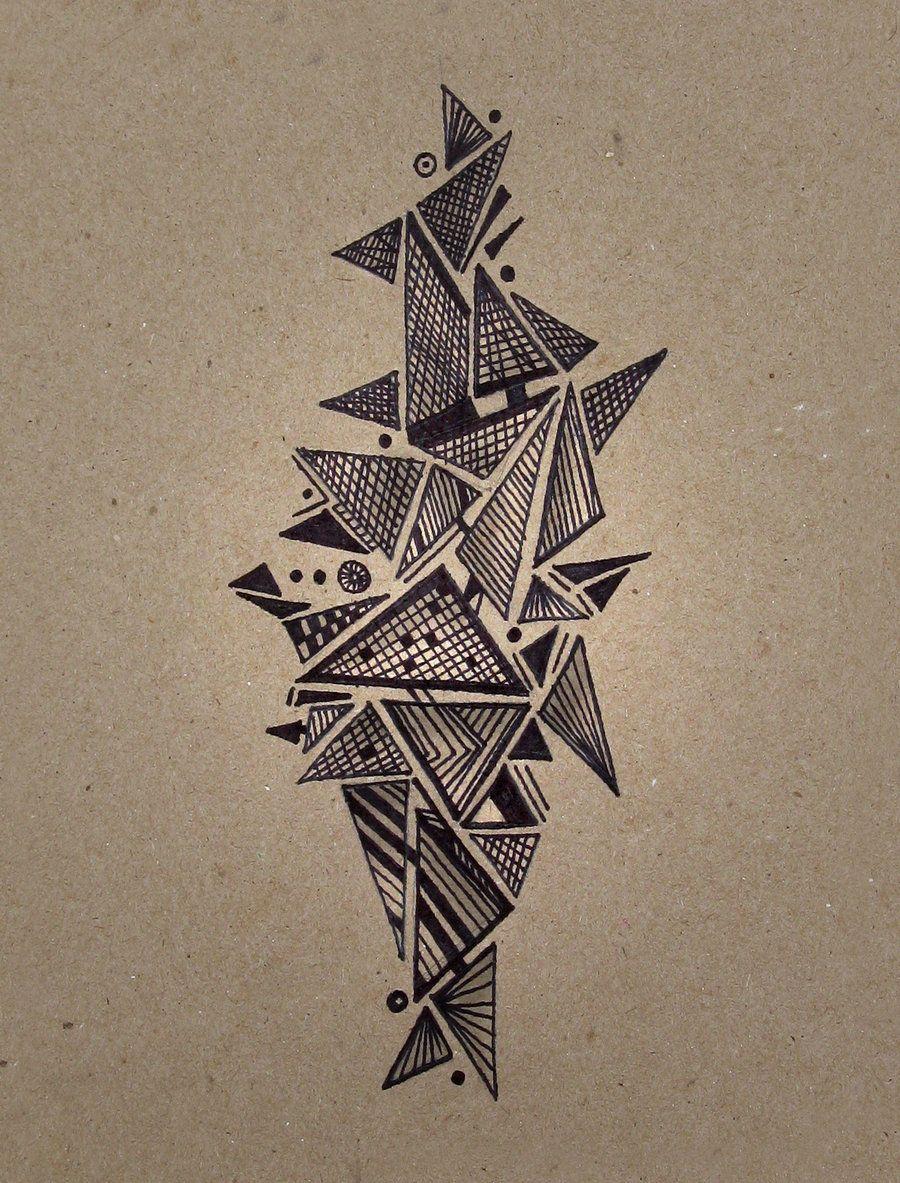 geometric castle by charlo-tree.deviantart.com on @deviantART