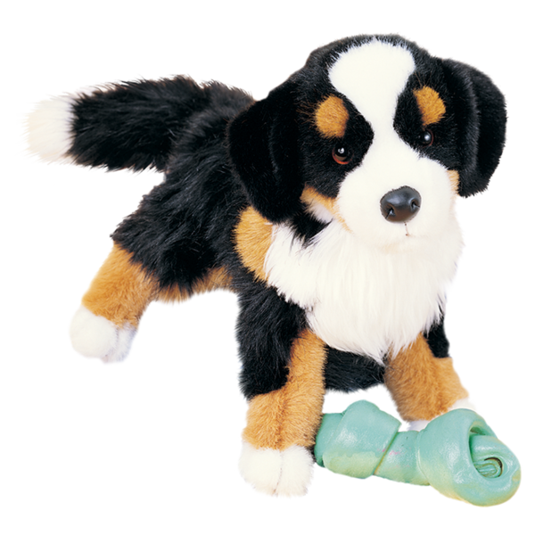 Trevor Bernese Plush Toy Bernese Mountain Dog Teddy Bear