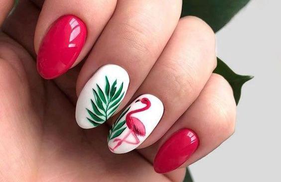 Tropical Nails Art