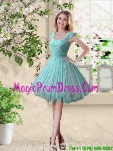 Resultado de imagen de turquoise bridesmaid dresses short