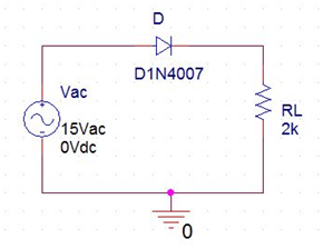 Half wave rectifier circuit without filter | Electronics ...