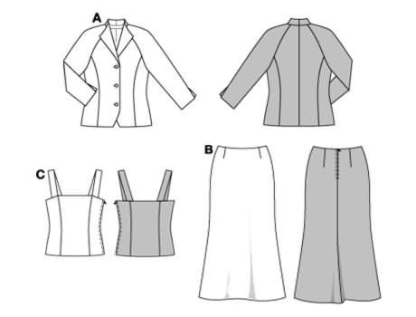pattern I'm making my mother of the groom dress from Burda 8374