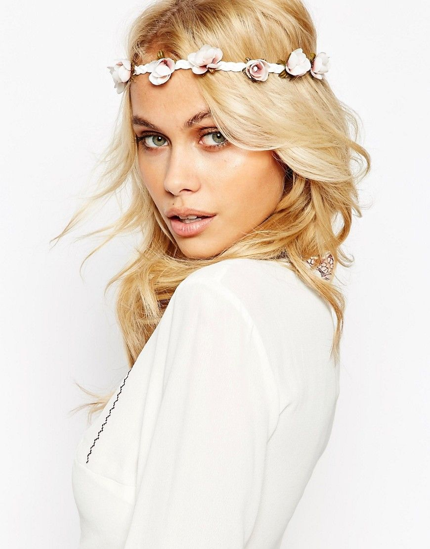 asos vintage flower festival hair garland | wedding hair