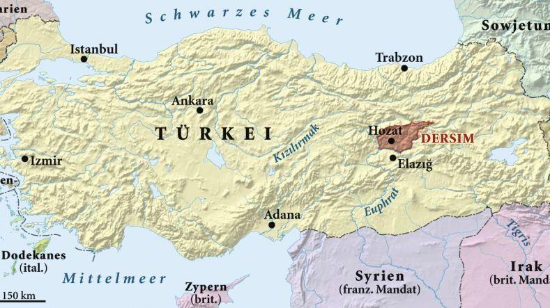 Das Dersim Massaker An Den Alevitischen Kurden In Der Turkei
