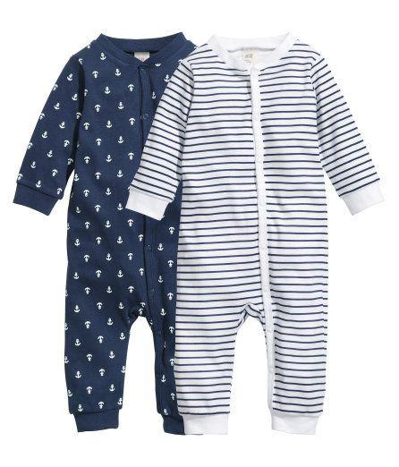 73da446e7c38 H M baby boy pajamas