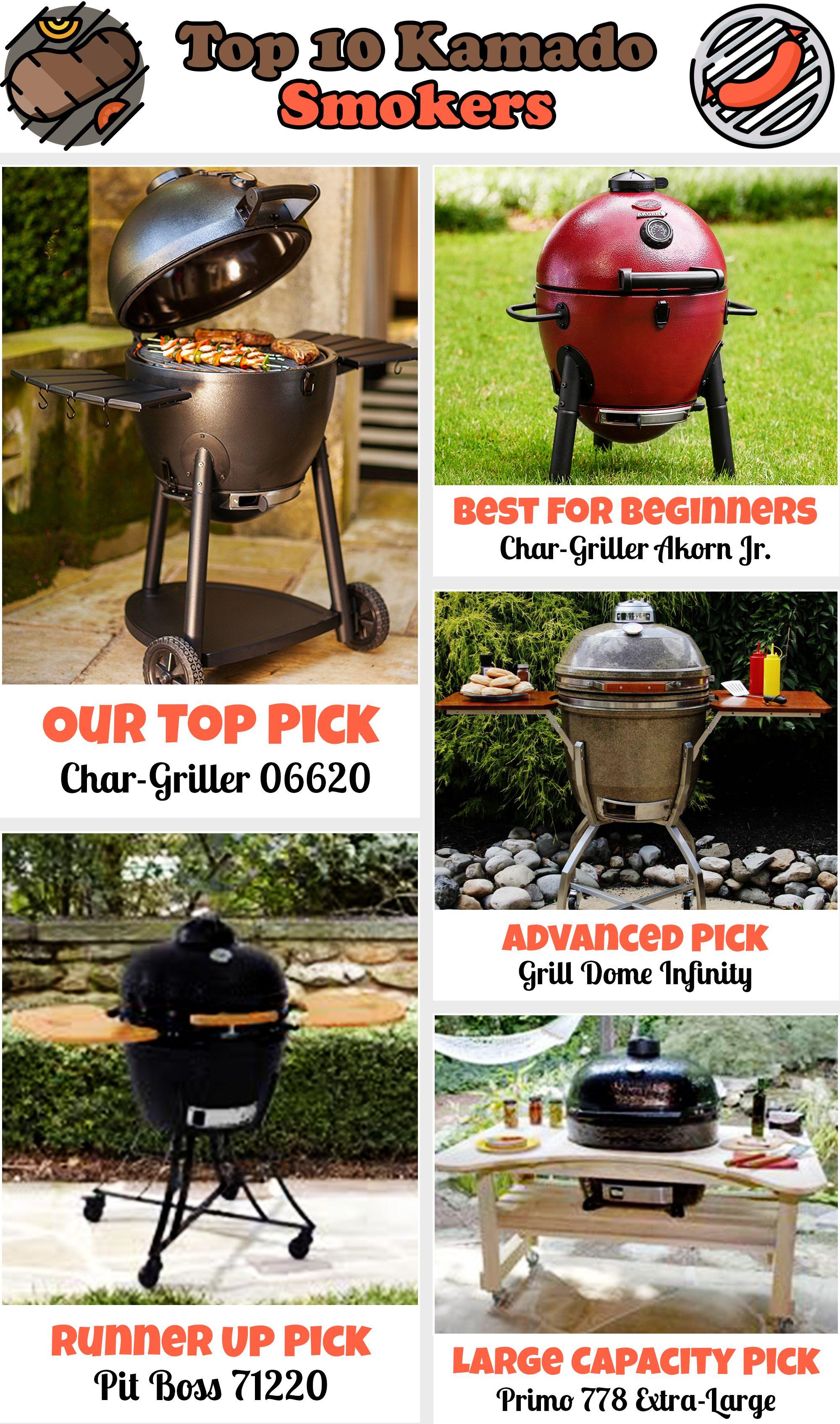 Top 10 Kamado Smokers Feb 2020 Reviews Buyers Guide Kamado Grilling Best Kamado Grill