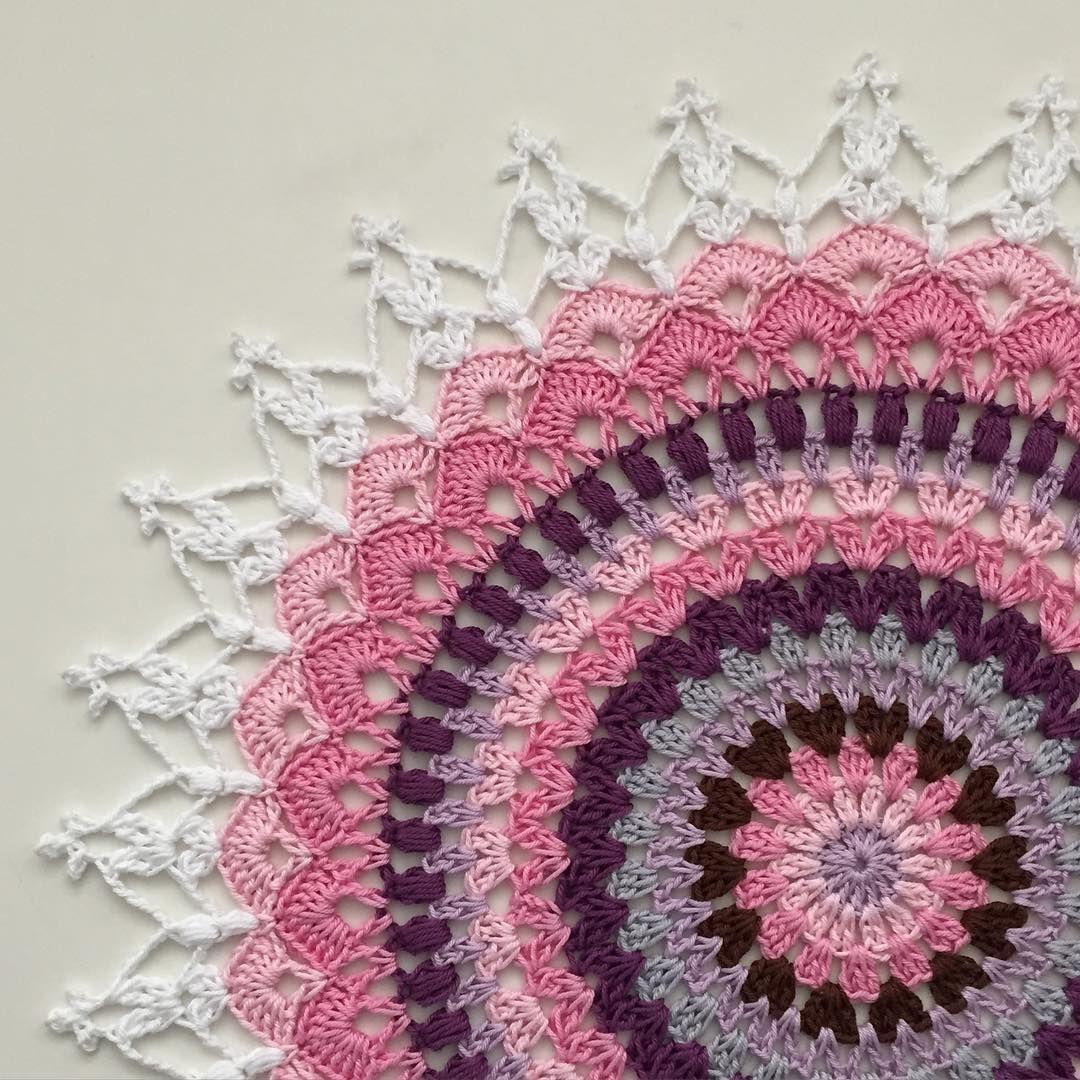 Pin by fügen nalbantoglu on crochet coaster | Pinterest | Lotus ...
