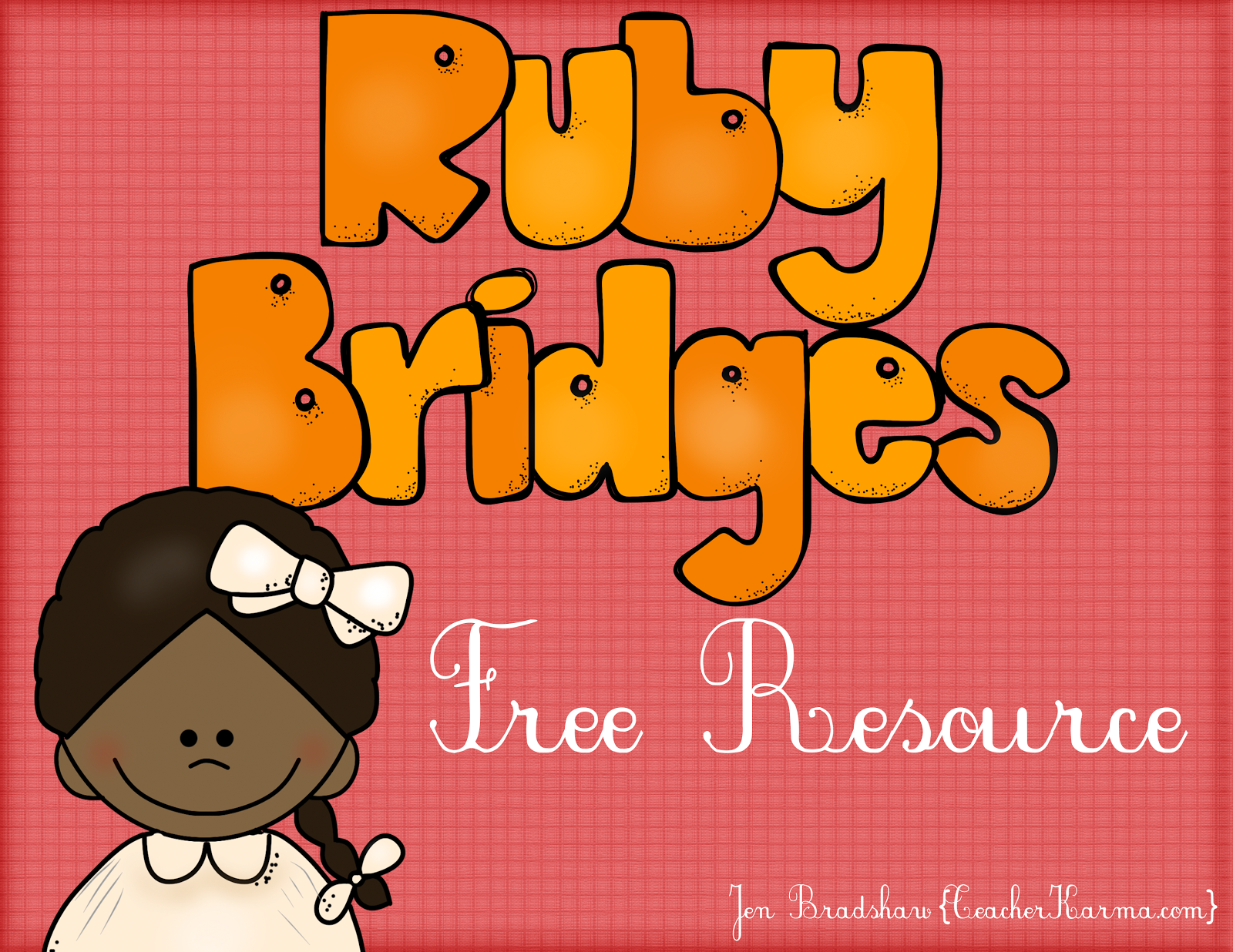 Ruby Bridges Freebie Facts About Ruby And Journal Paper