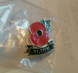 RARE-11-11-11-POPPY-PIN-BADGE   11 11 11 POPPY ENAMEL PIN