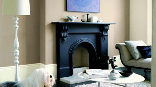 Hervorragend Kamin Dekoration   Wie Sie Ihr Interieur Mit Farben Erfrischen   #Wohnideen