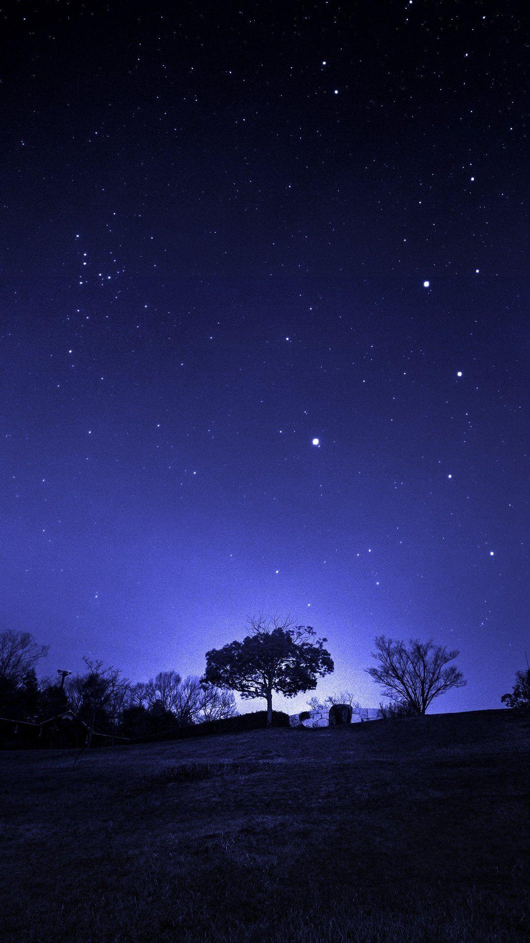 星空 Iphone8 スマホ壁紙 待受画像ギャラリー 風景 夜空 イラスト