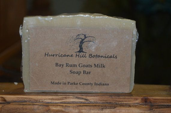 Bay Rum Soap bar by hurricanehill. Explore more products on http://hurricanehill.etsy.com