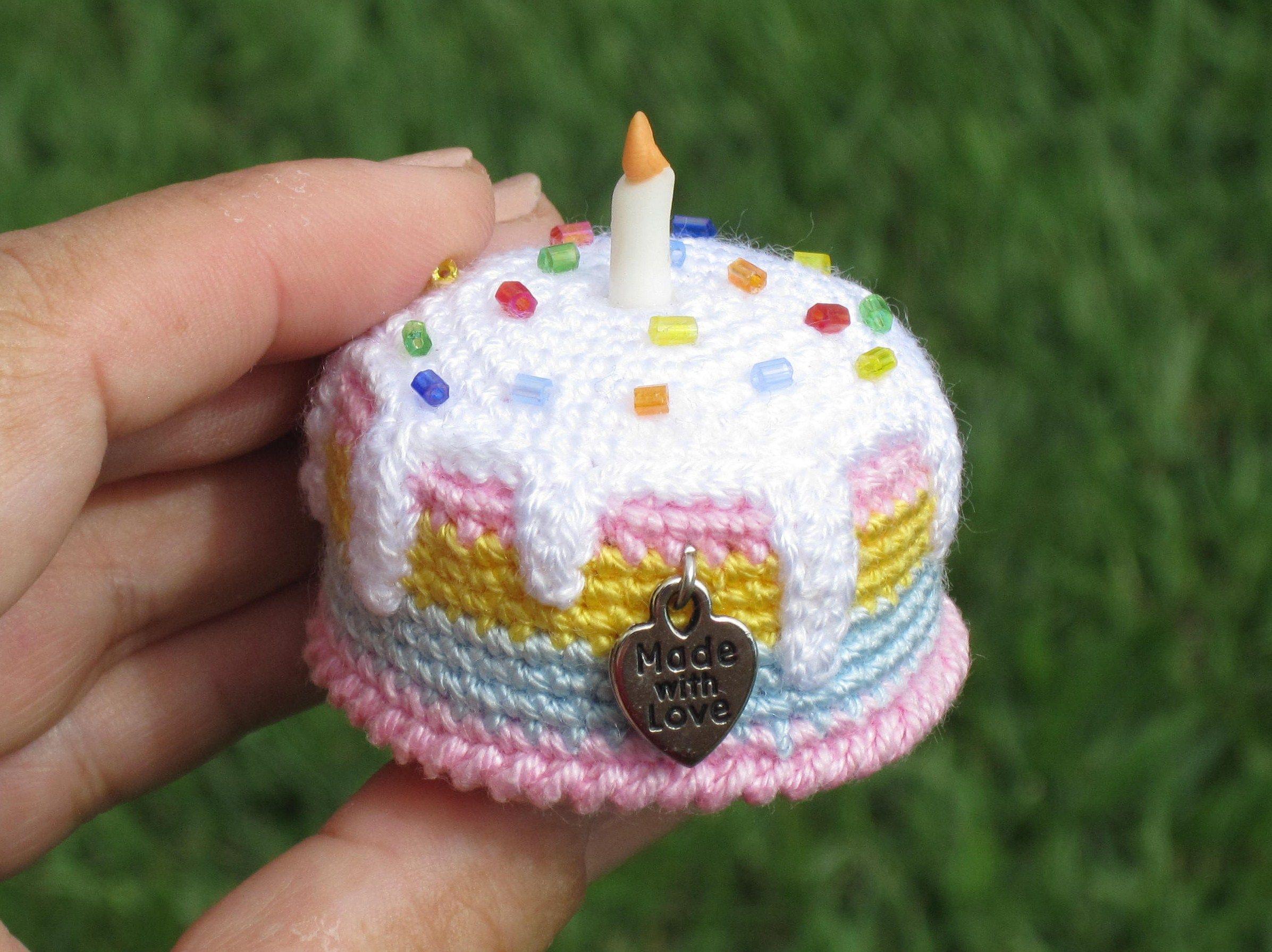 Amigurumi cake | crochet food | Pinterest | Tortas de cumpleaños, De ...