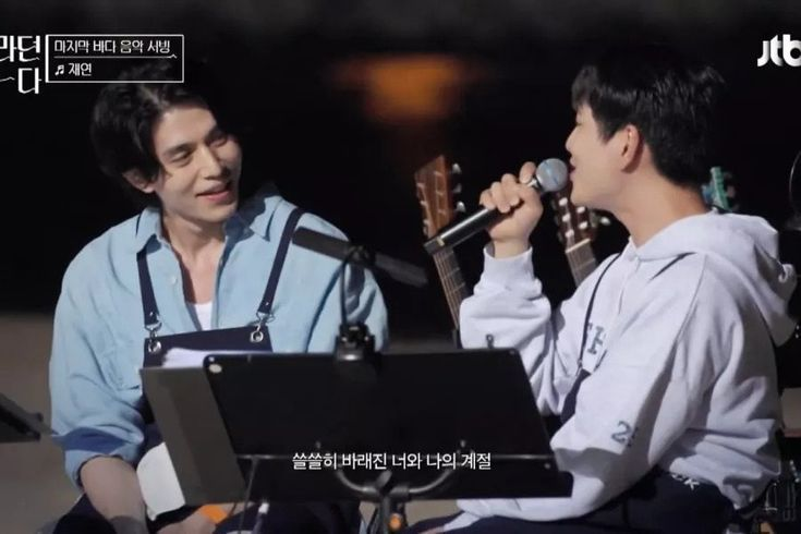 """Watch: Lee Dong Wook, Onew, And 10cm Team Up For Duets Of SHINee's """"An Encore"""" & """"Dream Girl"""""""